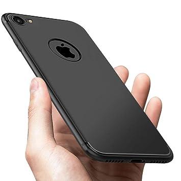 9726ef76d37 Funda iPhone 8, Funda iPhone 7, Vkaiy Funda Suave TPU Gel Ultra Fina  Flexible