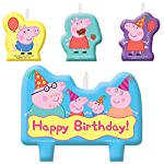 Candle Set | Peppa Pig Collection | Birthday