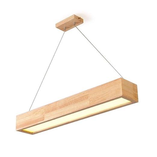 Houguiyuan Araña de Cristal LED Rectangular de la lámpara Moderna ...
