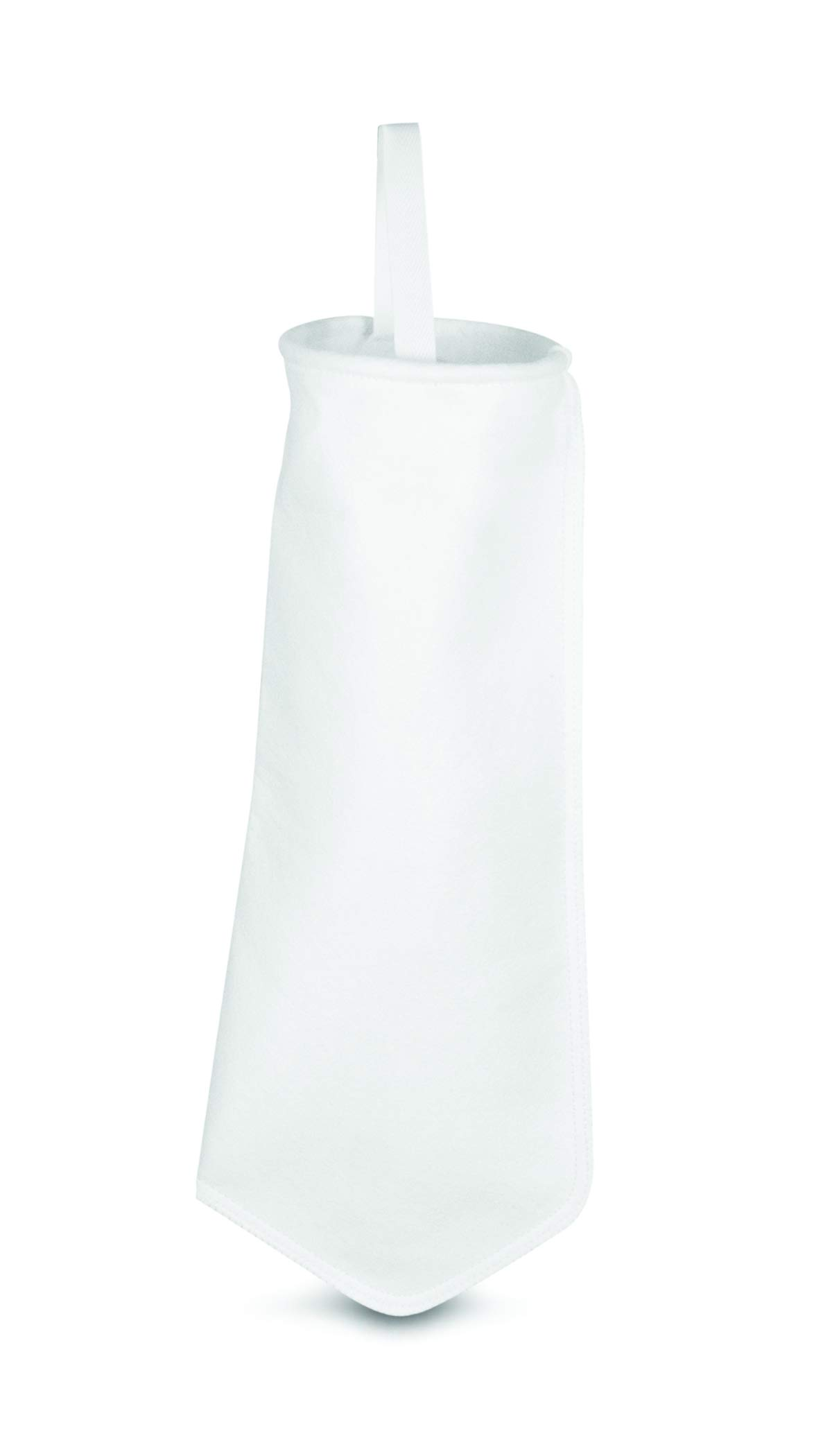 Rosedale Products, Inc. PE-15-P8S Polyester Felt Filter Bag, 6'' x 21'', White (Pack of 50) by Rosedale Products, Inc.