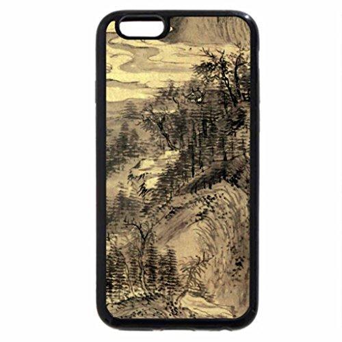 iPhone 6S / iPhone 6 Case (Black) Kinoshita Itsuun - Autumn Landscape