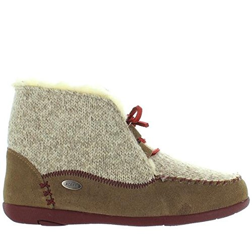 Acorn Womens Slopeside Boot Caribou Size 6