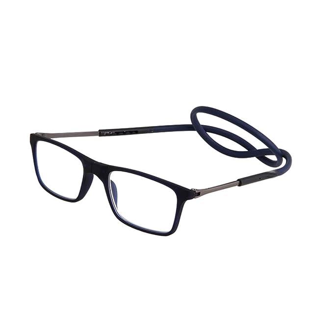 e9c2057992 GEMSeven Cuello Colgando Gafas De Lectura Magnética: Amazon.es: Ropa y  accesorios