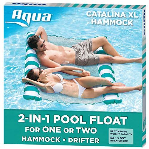 Aqua Catalina XL Hammock, 4-in-1 Multi-Purpose