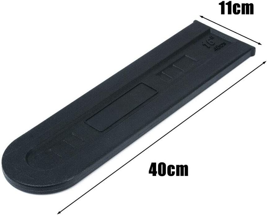ningdeCK Chainsaw Bar Cover Black Chainsaw Bar Cover Guide Plate Protector Chain Guard Case for Agriculture Supplies Accessories For 14-16inch Chainsaw