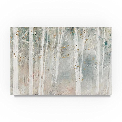 Trademark Fine Art A Woodland Walk I by Lisa Audit, 30x47-Inch Canvas Wall Art (Com Painting Art Abstract)