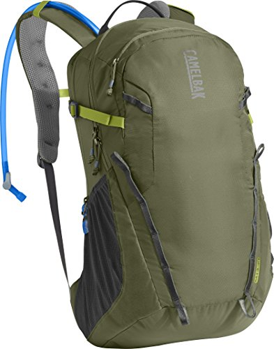 CamelBak Cloud Walker 18 Crux Reservoir Hydration Pack, Lichen Green/Dark Citron, 2.5 L/85 oz ()