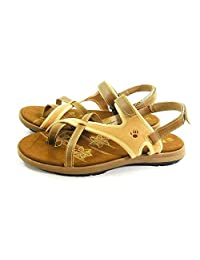 Bearpaw Womens Marlene Split Toe Casual Flat Sandals