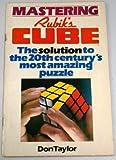 Mastering Rubik's Cube, Don Taylor, 0030599415