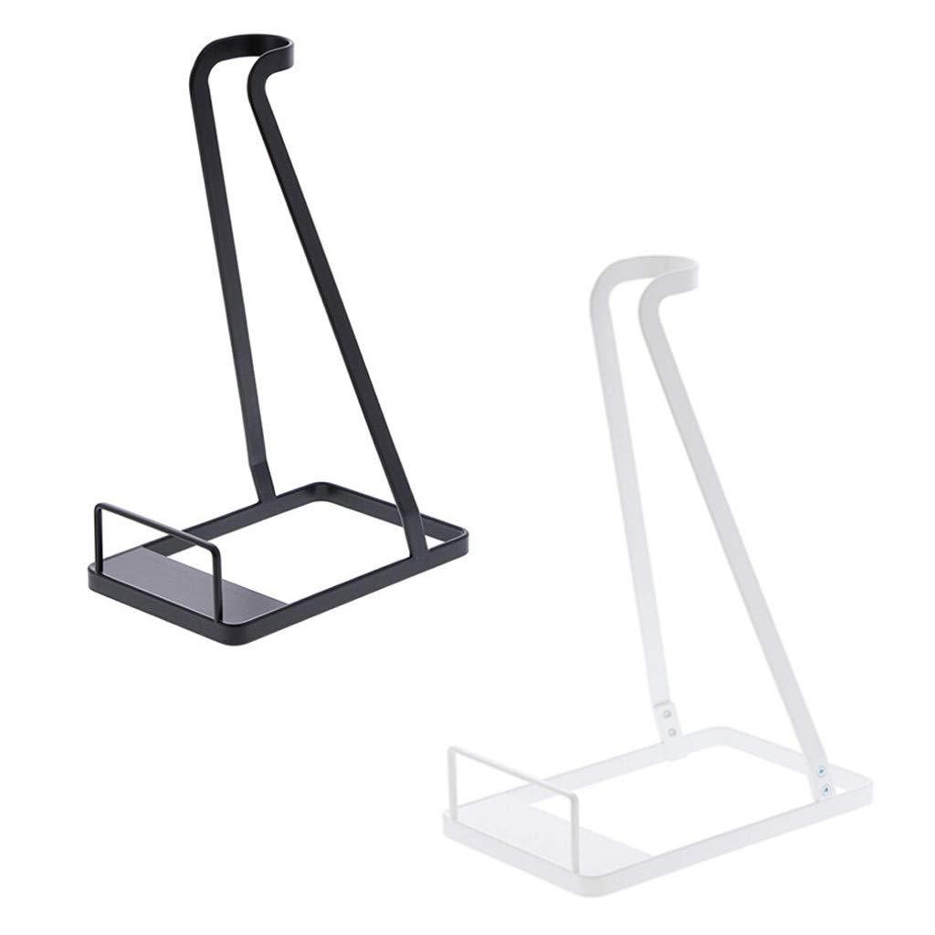 NOMUSING Vacuum Stand for Dyson V6 V7 V8 V10 Organizer Holders Compatible Other Brands Stick Cleaners Handheld Electric Vacuums Stable Metal Organizer Rack (Black)