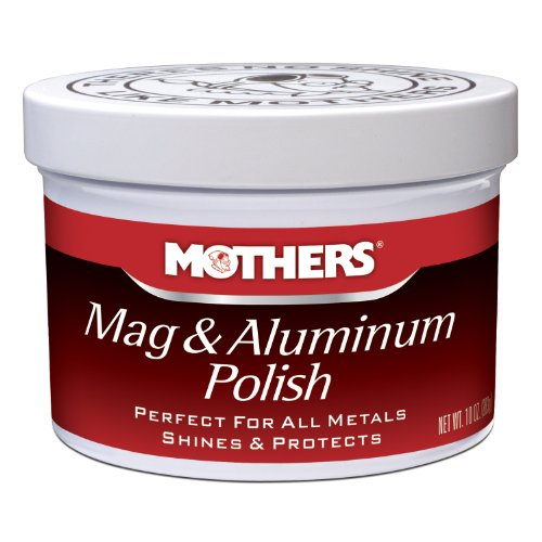 Mothers 05101 Mag & Aluminum Polish - 10 oz by Mothers