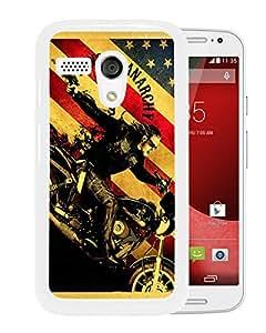 Sons Of Anarchy TV Series White Fashionable Design Motorola Moto G Plastic Case