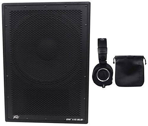 Peavey DM 115 Sub 15'' 1000W Active Subwoofer+Digital DSP+Headphones by Peavey