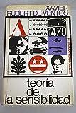 img - for Teoria de la sensibilidad. Prologo de Jose Luis L. Aranguren. book / textbook / text book