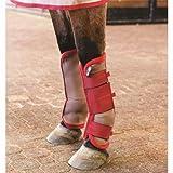 Horseware Amigo Fly Boots Pony Silver/Black