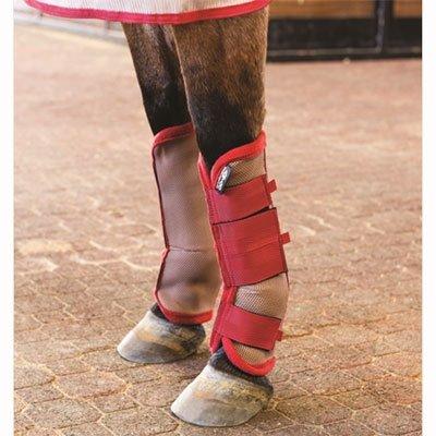 Horseware Amigo Fly Boots Horse Silver/Black