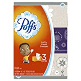 Puffs Basic Facial Tissue, 3 Family Boxes, 180 Tissues per Box, 540 ct Reviews