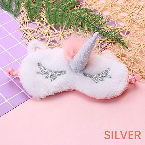 1PC Relaxing Cooling Cute Rabbit Sleeping Eye Sleep Masks Deep Silk Gel Shade Eyepatch Travel Rest Aids Makeup Tools Kit