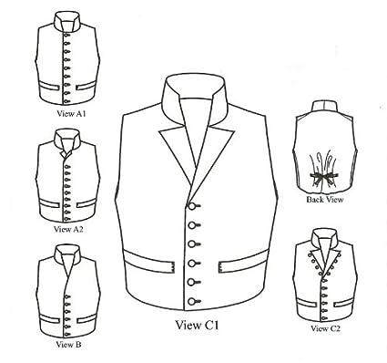 Amazon.com: 1790 - 1850 Single-breasted Man\'s Waistcoats (Vests ...