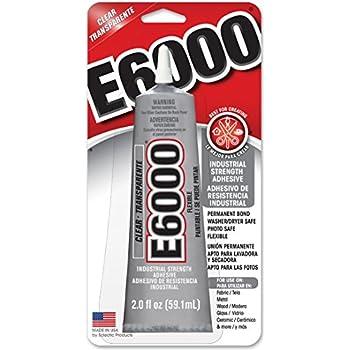 E6000 237032 Craft Adhesive, 2 fl oz Clear