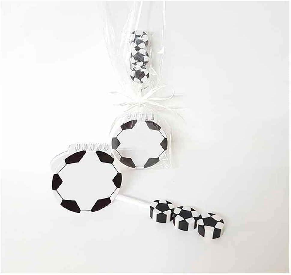Libreta forma de balón fútbol + lápiz con gomas balones de fútbol ...