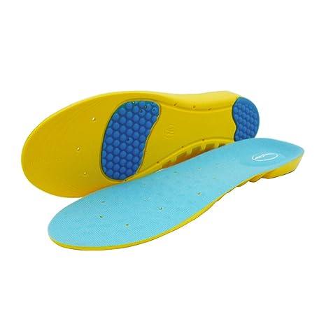 c3503c21a77fae HappyStep: Semelles de sport mousse à mémoire avec creux de talon en gel et  soutien