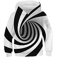 Ainuno Teen Boys Girls Hoodies Novelty Galaxy Unicorn Sweatshirts Pullover 13-15Y