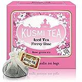 Kusmi Tea - ROSE GREEN TEA 10 teabags For Iced Tea
