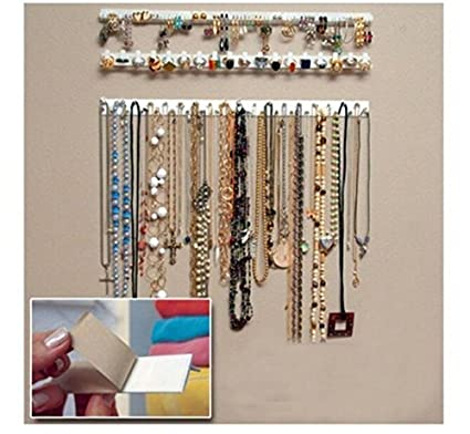 Amazoncom JC Arts 9 in 1 Adhesive Paste Wall Hanging Storage