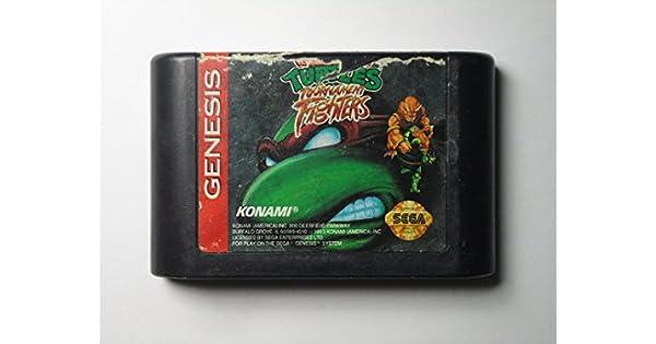 Amazon Com Teenage Mutant Ninja Turtles Tournament Fighters Video Games