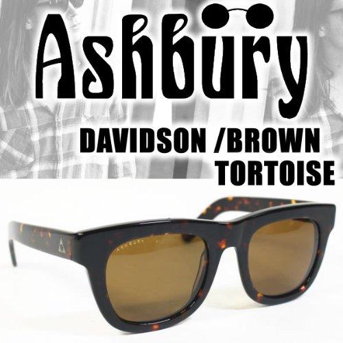 アシュベリー アシュベリー サングラス DAVIDSON BROWN TORTOISE -BROWNレンズ ashbury サングラス   B01N4MMONP