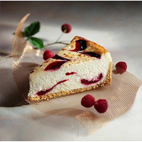 Sweet Street Raspberry White Chocolate Hand Fired Brulee Cheesecake, 14 Slice -- 2 per case.