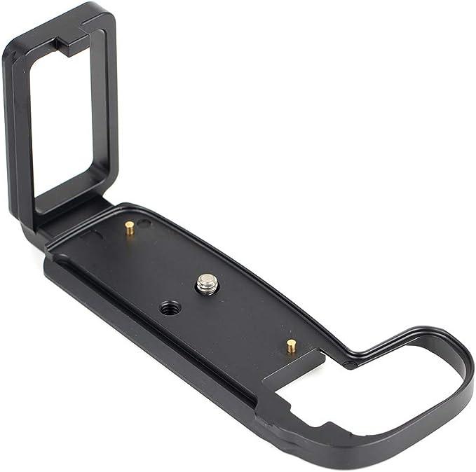 Pixco L-Staffa treppiede piastra a sgancio rapido per fotocamere Canon EOS R Compatibile con Arca-Swiss.