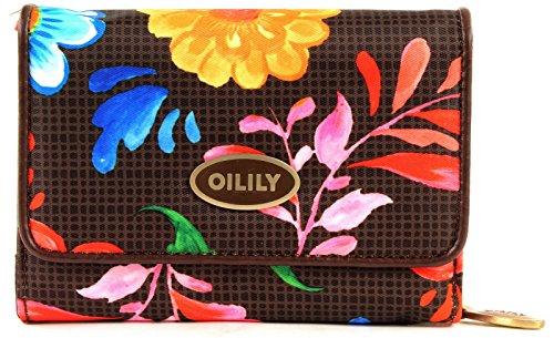 Oilily 'Russian Rose S Wallet Walnut' Borsa