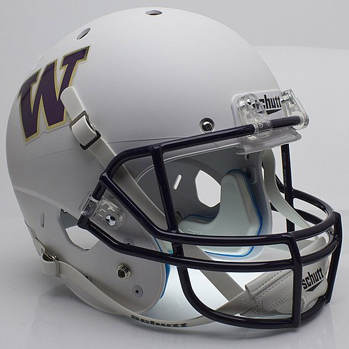 (Schutt Washington Huskies Full XP Replica Football Helmet - NCAA Licensed - Washington Huskies Collectibles)