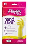 Playtex Hand Saver Premium Latex Rubber Gloves, Small (Pack of 6)