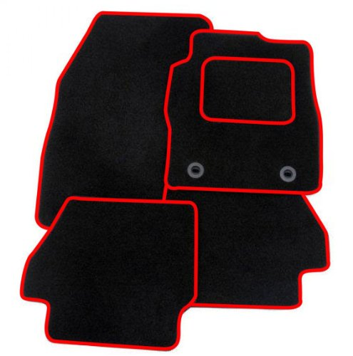 United Car Parts BLACK-RED-MATS-169 Black + Red Trim Tailored Car Floor Mats Carpet Amazon.co.uk Car u0026 Motorbike  sc 1 st  Amazon UK & United Car Parts BLACK-RED-MATS-169 Black + Red Trim Tailored Car ... markmcfarlin.com