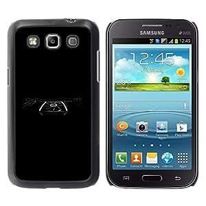 Be Good Phone Accessory // Dura Cáscara cubierta Protectora Caso Carcasa Funda de Protección para Samsung Galaxy Win I8550 I8552 Grand Quattro // Graphics Power