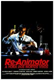 Re-Animator Movie Poster (27 x 40 Inches - 69cm x 102cm) (1985) Brazilian -(Jeffrey Combs)(Bruce Abbott)(Barbara Crampton)(David Gale)(Robert Sampson)(Gerry Black)