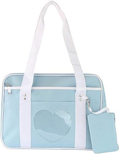 Lolita Heart Shaped Handbag Girls Satchel Shoulder Bag Tote Messenger Bags Gift