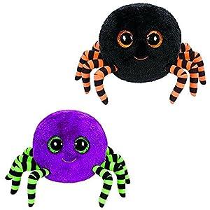 ty beanie boos crawly halloween spider set of 2 - Halloween Spider