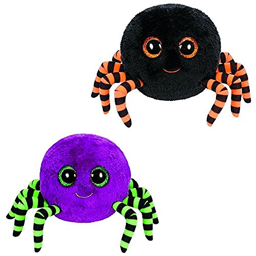 Ty Beanie Boos Crawly - Halloween Spider (Set of 2)]()