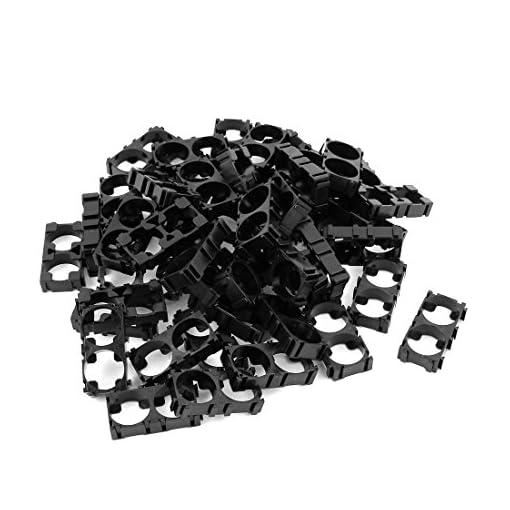 50pcs-18650-Lithium-Battery-Double-Holder-Bracket-for-DIY-Battery-Pack