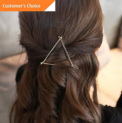 Sandover Fashion Hair Clips Pins Geometric Barrettes Hairpin Accessories for Girls Women | Model HRPN - 7566 | - Geometric Weave Bracelet