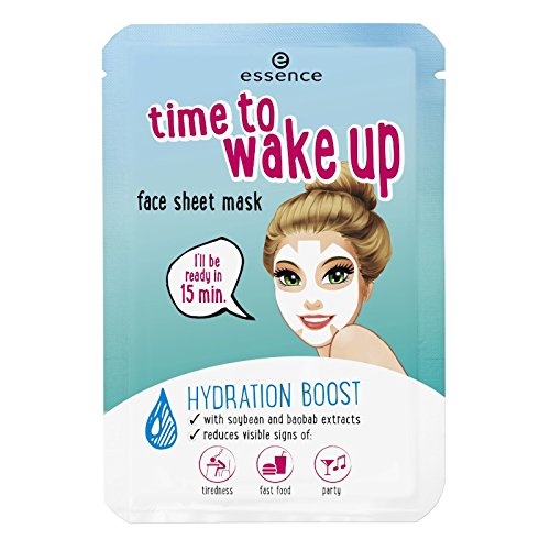essence - Gesichtsmaske - time to wake up face sheet mask - wake up stand up