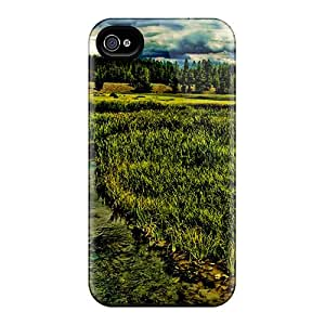 Hot Snap-on Wonderful Wetl Lscape Hdr Hard Cover Case/ Protective Case For Iphone 4/4s