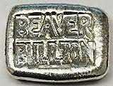 Beaver Bullion Chunky BAR - Canada - 2018 1 OZ Pure .999 Silver