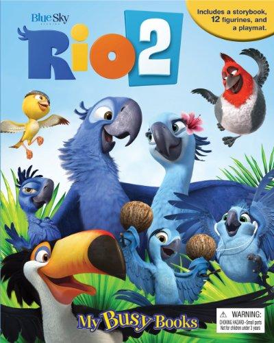 Rio 2 My Busy Book