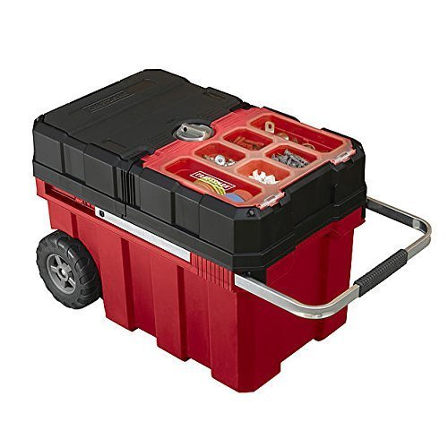 Large Mobile Storage - Craftsman 18 Gallon Mobile Tool Chest with Parts Storage by Craftsman