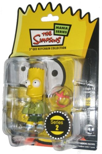 Scout Bart: The Simpsons / Toy2r Qee Crossover Keychain for sale  Delivered anywhere in USA